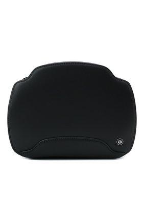 Женская сумка sesia LORO PIANA темно-синего цвета, арт. FAL6767 | Фото 1 (Материал: Натуральная кожа; Сумки-технические: Сумки через плечо; Размер: small, mini; Ремень/цепочка: На ремешке)