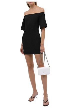Женское хлопковое платье COMME DES FUCKDOWN черного цвета, арт. CDFD1457   Фото 2