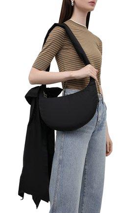 Женская сумка REDVALENTINO черного цвета, арт. WQ2B0C44/BAA   Фото 2