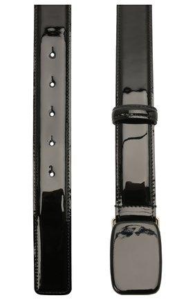 Женский кожаный ремень GIORGIO ARMANI черного цвета, арт. Y1I270/YQH2A | Фото 2