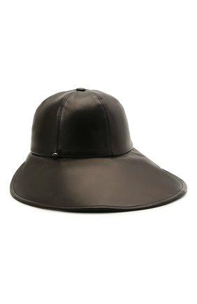 Кожаная шляпа | Фото №1