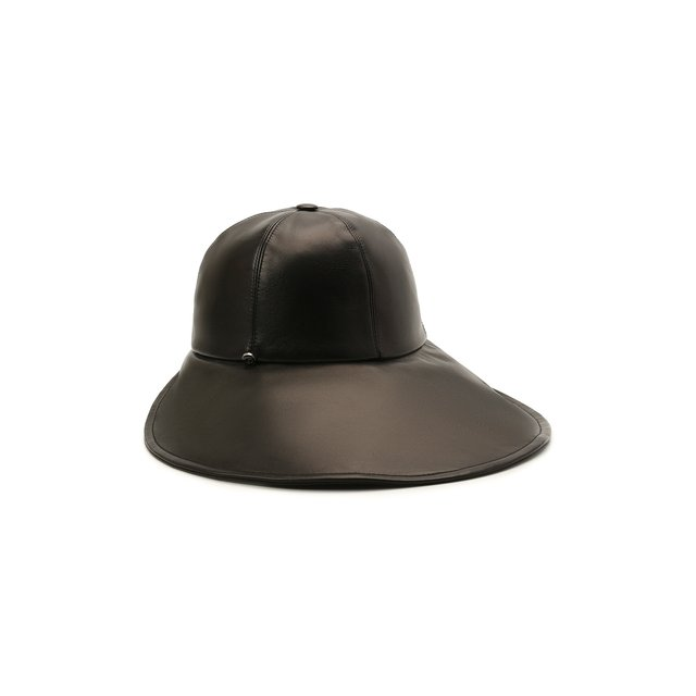 Кожаная шляпа Giorgio Armani