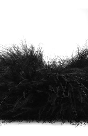 Женский комплект из двух браслетов с отделкой перьями SAINT LAURENT черного цвета, арт. 658622/3YH02 | Фото 2