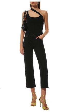 Женские джинсы THE ROW черного цвета, арт. 5660W1954 | Фото 2