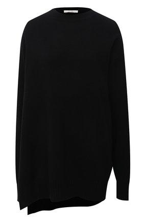 Женский свитер из шерсти и кашемира THE ROW черного цвета, арт. 5686Y9 | Фото 1