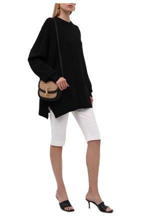 Женский свитер из шерсти и кашемира THE ROW черного цвета, арт. 5686Y9 | Фото 2