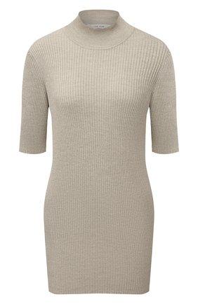 Женский пуловер из шелка и хлопка THE ROW бежевого цвета, арт. 5690Y160 | Фото 1
