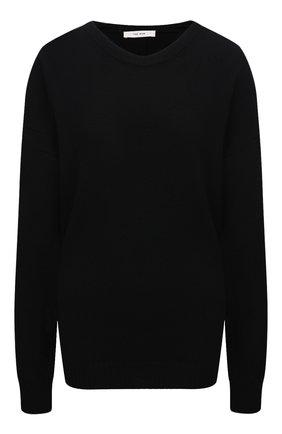 Женский пуловер из шерсти и кашемира THE ROW черного цвета, арт. 5716Y9 | Фото 1
