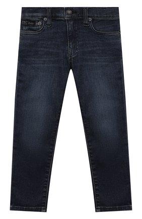 Детские джинсы POLO RALPH LAUREN темно-синего цвета, арт. 321750427 | Фото 1