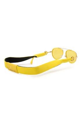 Женские солнцезащитные очки VERSACE желтого цвета, арт. 2232-14736D | Фото 8