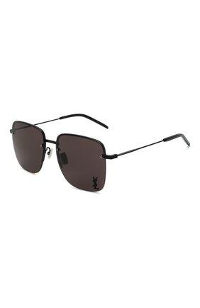 Женские солнцезащитные очки SAINT LAURENT черного цвета, арт. SL 312 M 001 | Фото 1