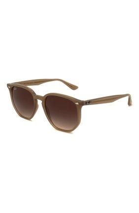 Женские солнцезащитные очки RAY-BAN коричневого цвета, арт. 4306-616613 | Фото 1