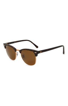 Женские солнцезащитные очки RAY-BAN коричневого цвета, арт. 3016-130933 | Фото 1