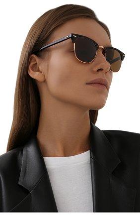 Женские солнцезащитные очки RAY-BAN коричневого цвета, арт. 3016-130933 | Фото 2