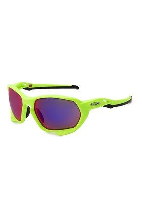 Женские солнцезащитные очки OAKLEY зеленого цвета, арт. 9019-901904 | Фото 1
