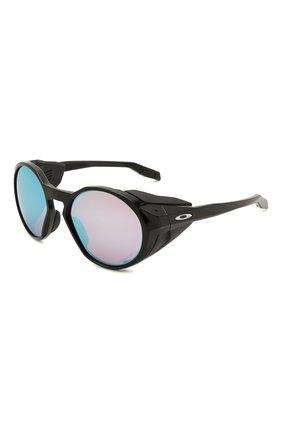 Женские солнцезащитные очки OAKLEY черного цвета, арт. 9440-944002 | Фото 1