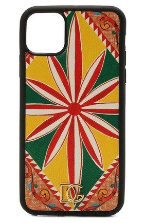 Чехол для iphone 11 pro max DOLCE & GABBANA разноцветного цвета, арт. BI2690/AW425 | Фото 1