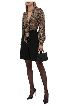 Женские кожаные туфли kate 100 CHRISTIAN LOUBOUTIN черного цвета, арт. 3191410/KATE 100 | Фото 2