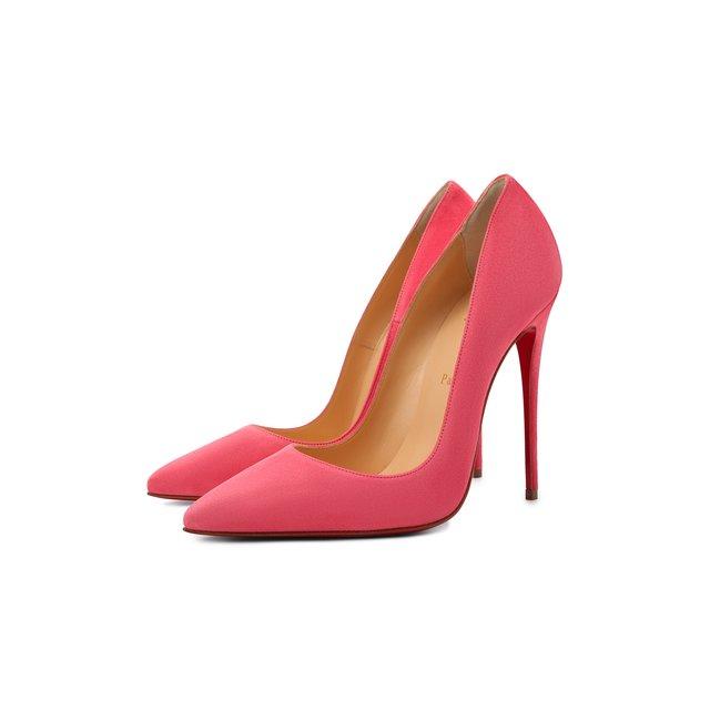 Замшевые туфли So Kate 120 Christian Louboutin