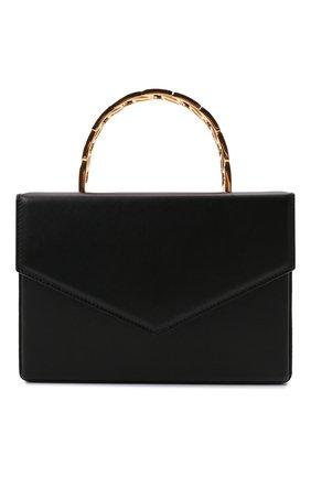 Женская сумка AMINA MUADDI черного цвета, арт. AMINI PERNILLE/CALF | Фото 1