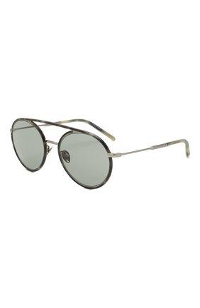 Мужские солнцезащитные очки GIORGIO ARMANI серого цвета, арт. AR6121J | Фото 1
