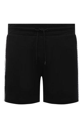 Мужские хлопковые шорты CALVIN KLEIN черного цвета, арт. KM0KM00611 | Фото 1