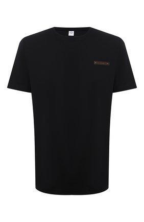 Мужская хлопковая футболка  BERLUTI черного цвета, арт. R20JRS62-002 | Фото 1
