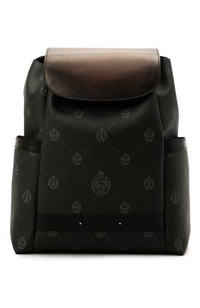 Мужской рюкзак BERLUTI черного цвета, арт. M224699 | Фото 1