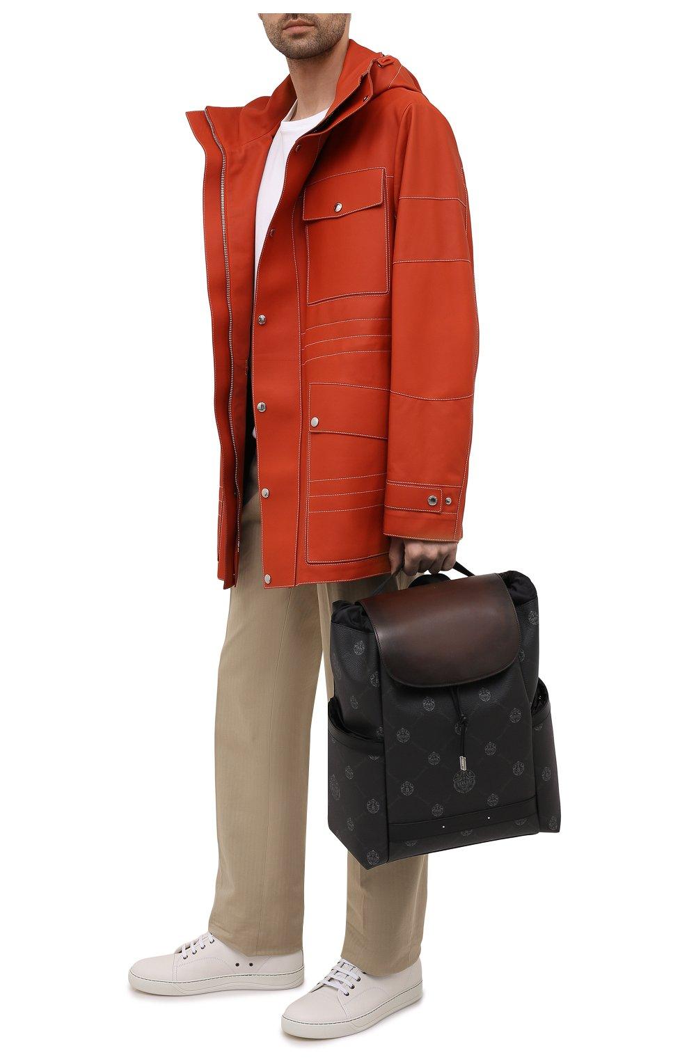 Мужской рюкзак BERLUTI черного цвета, арт. M224699 | Фото 2