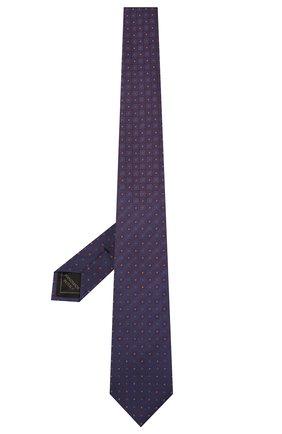 Мужской шелковый галстук BRIONI фиолетового цвета, арт. 061Q00/01406 | Фото 2 (Материал: Текстиль; Принт: С принтом)