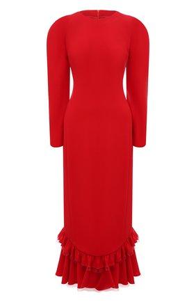 Женское платье ULYANA SERGEENKO красного цвета, арт. ABM019FW19P (1225т19) | Фото 1