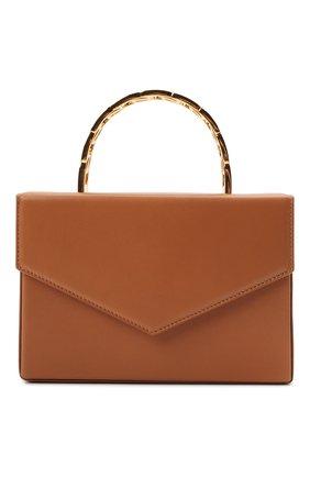 Женская сумка AMINA MUADDI светло-коричневого цвета, арт. AMINI PERNILLE/CALF | Фото 1