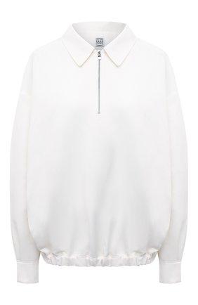 Женский свитер TOTÊME молочного цвета, арт. 213-727-726 | Фото 1