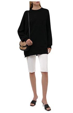 Женские шорты TOTÊME белого цвета, арт. 213-219-726 | Фото 2
