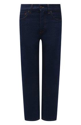 Женские джинсы THE ROW темно-синего цвета, арт. 5660W2018 | Фото 1 (Материал внешний: Хлопок; Стили: Кэжуэл)