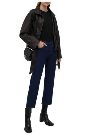 Женские джинсы THE ROW темно-синего цвета, арт. 5660W2018 | Фото 2