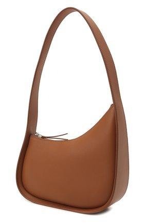 Женская сумка half moon THE ROW коричневого цвета, арт. W1249L52   Фото 4 (Сумки-технические: Сумки top-handle; Материал: Натуральная кожа; Размер: mini)