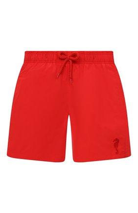 Детские плавки-шорты VILEBREQUIN красного цвета, арт. JIMH1D99/201 | Фото 1