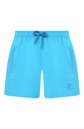 Детские плавки-шорты VILEBREQUIN голубого цвета, арт. JIMU1D36/332 | Фото 1