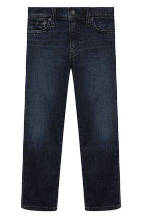 Детские джинсы POLO RALPH LAUREN темно-синего цвета, арт. 322750427 | Фото 1