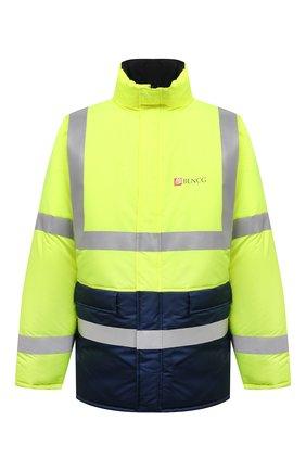 Мужская двусторонняя куртка BALENCIAGA разноцветного цвета, арт. 660125/TYD33   Фото 1 (Материал подклада: Синтетический материал; Материал внешний: Синтетический материал; Рукава: Длинные; Мужское Кросс-КТ: пуховик-короткий; Кросс-КТ: Куртка)
