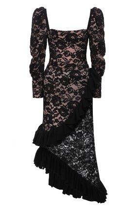 Женское платье ULYANA SERGEENKO черного цвета, арт. ABM020FW19P (1983т19) | Фото 1