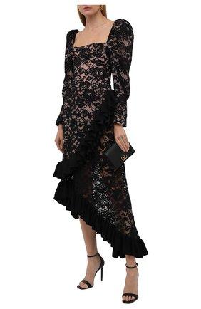 Женское платье ULYANA SERGEENKO черного цвета, арт. ABM020FW19P (1983т19) | Фото 2