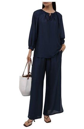 Женский костюм MAX MARA темно-синего цвета, арт. FAREA 31910118-GREENH 31310118 | Фото 1