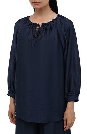 Женский костюм MAX MARA темно-синего цвета, арт. FAREA 31910118-GREENH 31310118 | Фото 2