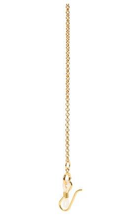 Женские цепочка для очков LELE SADOUGHI белого цвета, арт. LSG007IV | Фото 2