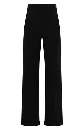 Женские шерстяные брюки GIORGIO ARMANI черного цвета, арт. 1WHPP0IN/T01QW   Фото 1