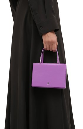 Женская сумка gilda AMINA MUADDI фиолетового цвета, арт. AMINI GILDA/NAPPA   Фото 2
