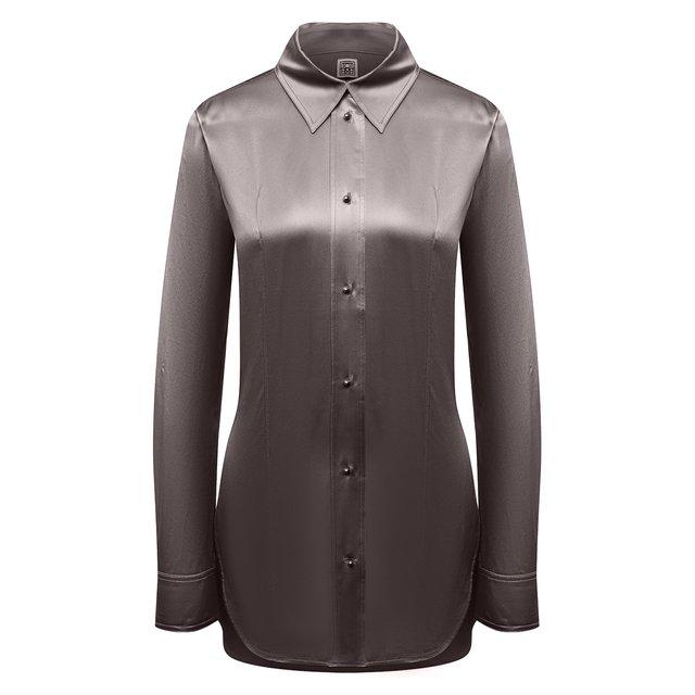 Шелковая рубашка Totême