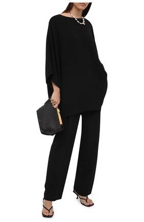 Женские брюки THE ROW черного цвета, арт. 5631W730   Фото 2